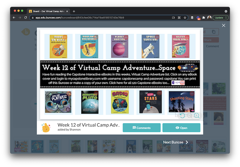 Learn about seven summer reading activities you can try with Capstone Connect and PebbleGo to help your growing readers.