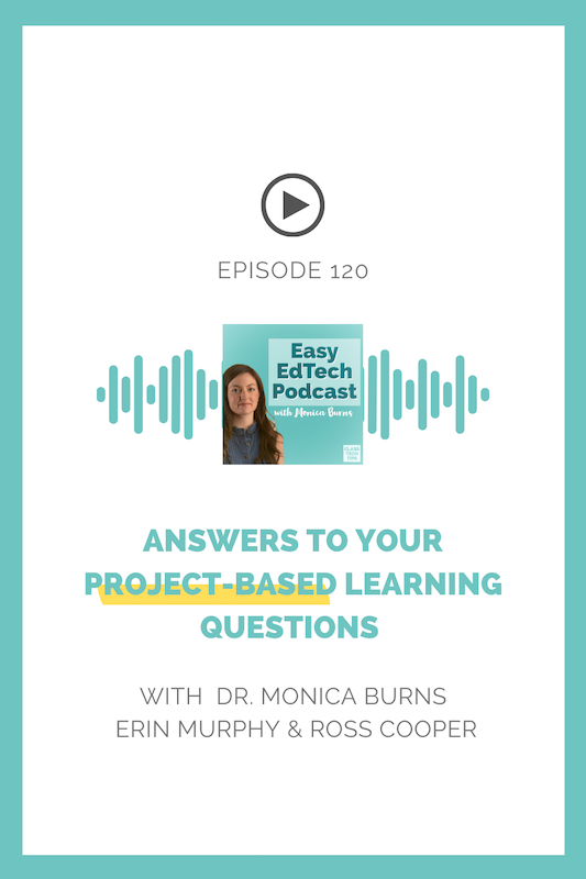 Co-authors of the new book Project Based Learning: Real Questions. Real Answers, Erin Murphy and Ross Cooper discuss on all things PBL.