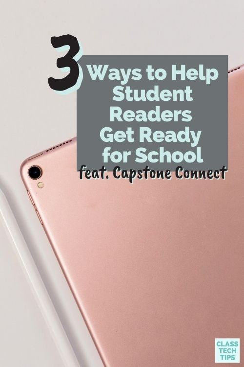Let's think forward to the start of the school year and identify ways to help student readers prepare thought read aloud audio and more.