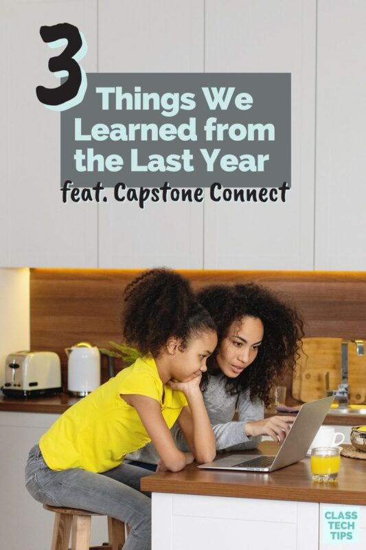 Explore how learning happens everywhere, collaboration is crucial, and more reflections from the past school year featuring Capstone Connect.