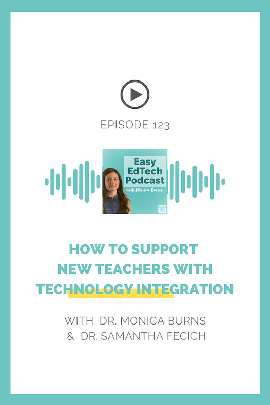 In this episode, Dr. Samantha Fecich, educator, author, and podcast host joins me for a discussion around how best to support new teachers in today's diverse classrooms.