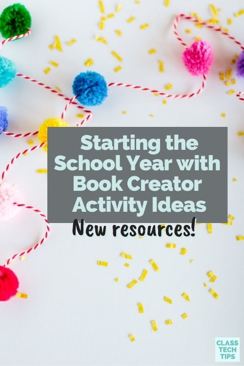 Try out these back-to-school activity ideas using Book Creator to give students a chance to share their goals in any subject area.