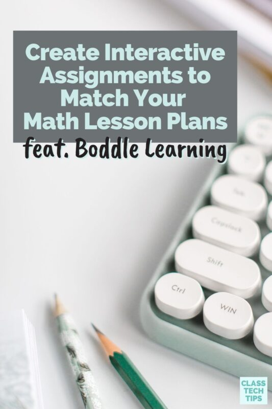 To save you time each week, you can create interactive assignments that support your weekly math lesson plans using Boddle Learning.