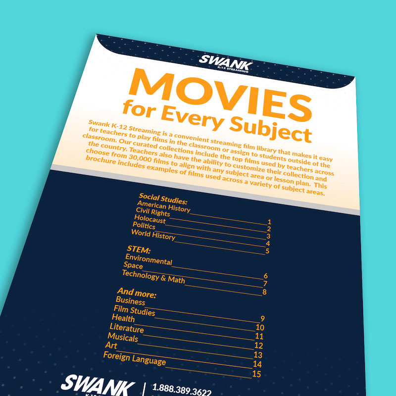 Learn how to use movies for every subject area this school year with this list of tips, guide to download, and webinar replay recording.