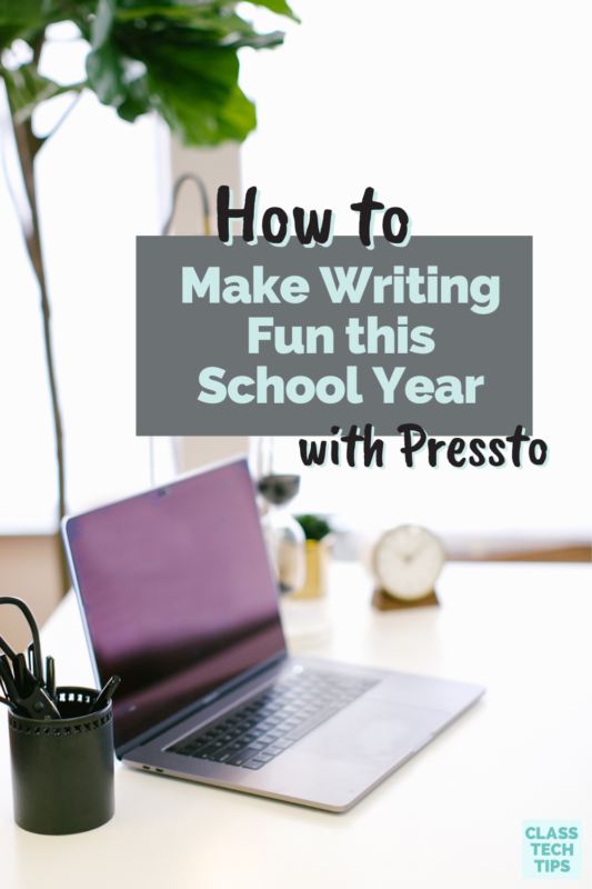 Make writing fun this school year with Pressto and their platform to motivate students to write critically and learn media literacy skills.